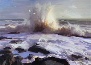"RUO LI, OPAM, ""Passionate Sea"""