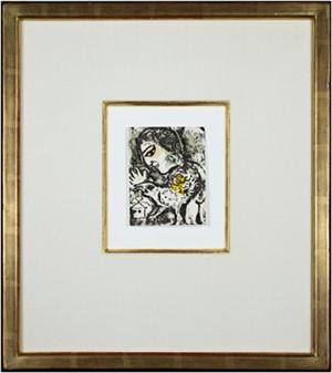 Carte de Voeux #731 - Chagall Catalog Raisonne, 1974