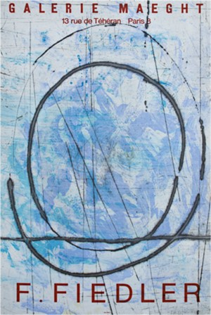 Abstract Composition in Blue, 1975