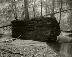 (#396) Coffin Rock, Cedar Falls by Frank Hunter