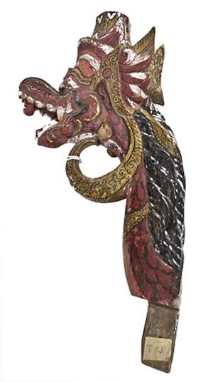 Garuda - finial, 19th Century
