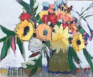 Pressing Flowers by Lea Ann Slotkin