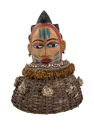 Yoruba Mask Nigeria, c.1950
