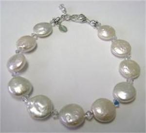 Coin Pearl - Swarovski