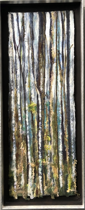 Birch Trees and Blue Skies #1( Forest Bathing)