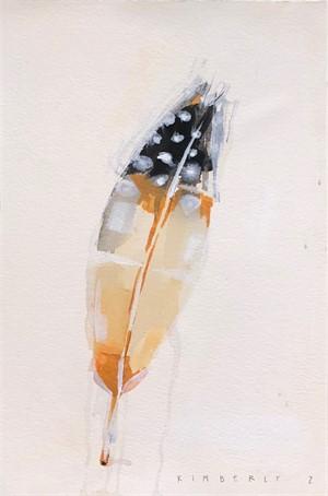 Quail Feather Study, 2019