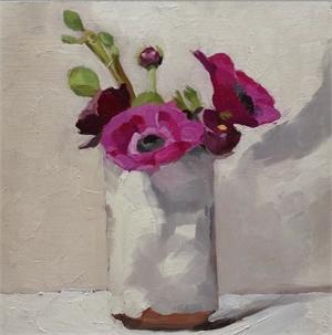 White Vase Series #2