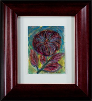 Iridescent Fireworks Flower, 2004