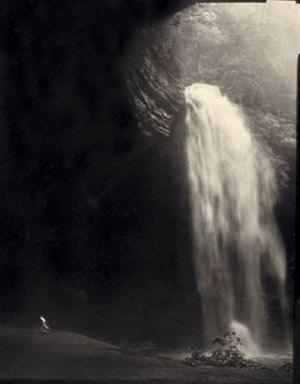 (#97) Allison Running, Ash Cave  by Frank Hunter