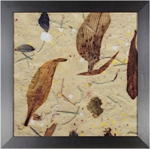 Handmade Paper Series:  Leaf Motif (detail), 2006