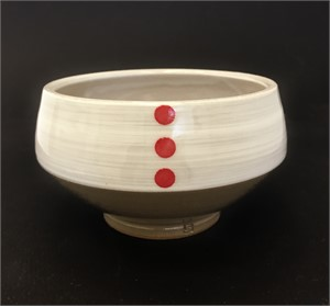 Red Dot Bowl