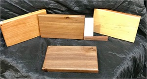 Business Card Holders (Maple, Cherry, Walnut)