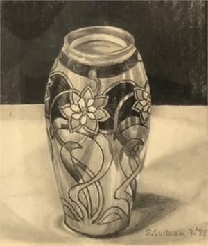 Little Painted Vase