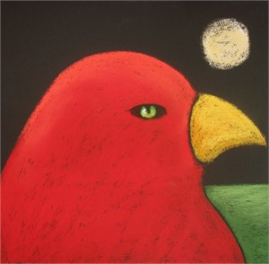 SOLD 'Red Dove'
