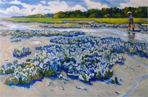 Blue Oyster Afternoon