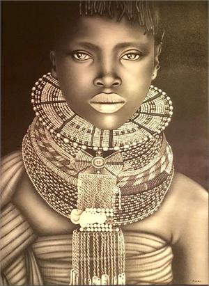 African Bride, 2017