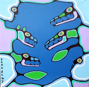 Morrisseau - Untitled '81