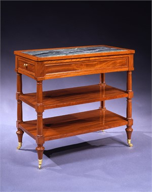 LOUIS XVI LIBRARY TABLE, French, late 18th century