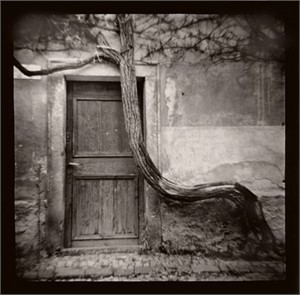 Doorway, Prague by Annette Elizabeth Fournet