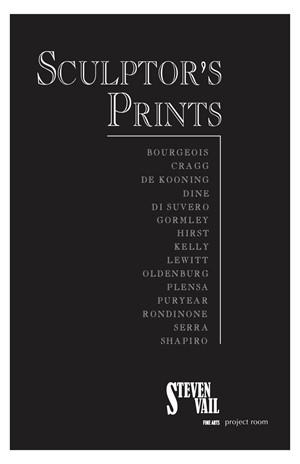 Sculptor's Prints, 2010