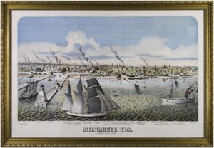 Milwaukee, Wisconsin From the Lake c.1880, 2006