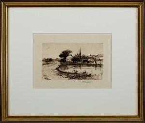 Sketch Near Pittsfield, 1882