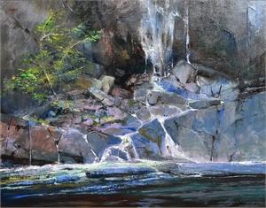 """ALBERT HANDELL, OPAM, """"Near Baranof Falls"""""""