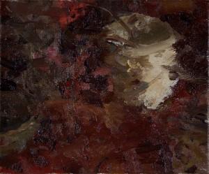 Still Life with Red Tapestry V