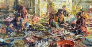 Fish Market Chaos