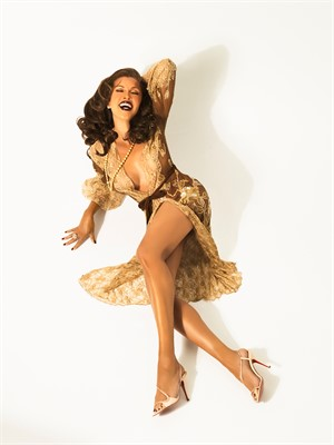 08013 Vanessa Williams Pin Up Color, 2008