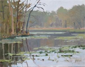 Misty Lake, Fall