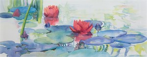 Water Lily Series #2 by Kirsten Barton