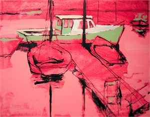 Rocky Neck in pink