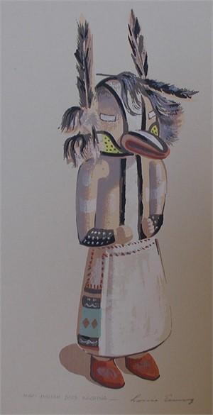 Hopi Indian Bird Kachina