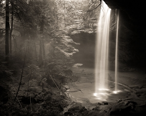 (#101) Ash Cave after a Rainfall (Rainstorm) [AP1] by Frank Hunter