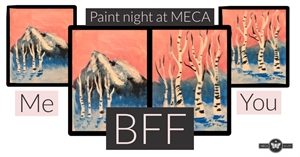 Sip and Paint: Ladies Night, Friday, February 14th 2020