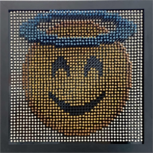 Emoji Screw Series - Smiling Face With Halo