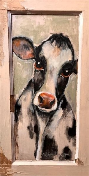 Whistler's Mother's Cow, 2017