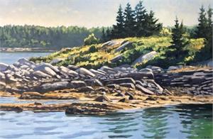 Rugged Shores of Vinalhaven