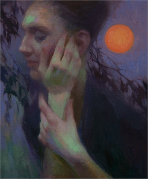 Strawberry Moon by Adrienne Stein