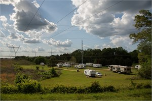 Trailer Park & Power Lines, Dallas County, AL, 2017