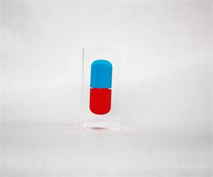 Tiny Blue and Red Pill, 2017