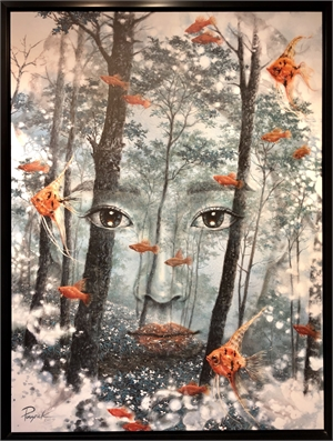Face in the Forest, 2019