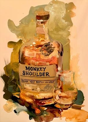 Monkey Shoulder Scotch by Dirk Walker