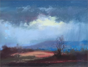 Storm Passing  by Linda Richichi