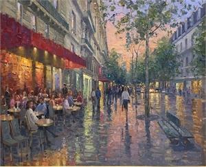 Parisian Cafe SOLD, 2019