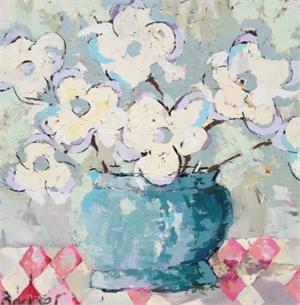 A Teal Vase