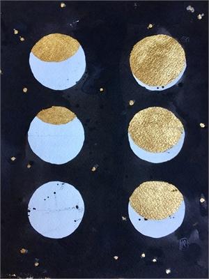 Noir Lunar Phase by Laura Roebuck