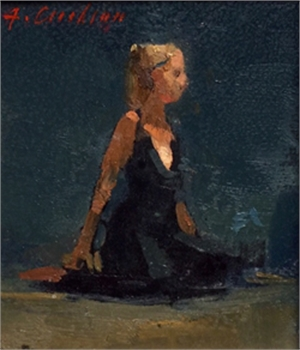 No. 47 (seated figure), 2016