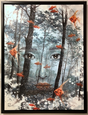 Face in the Forest (50/4), 2019